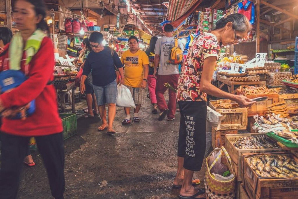 ダバオの市場